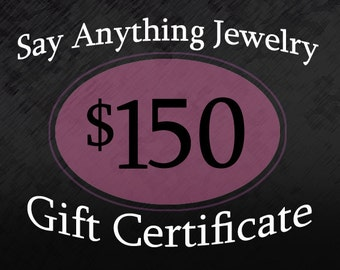 Gift Certificate - 150