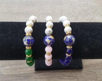 Two Toned Earth Bracelet