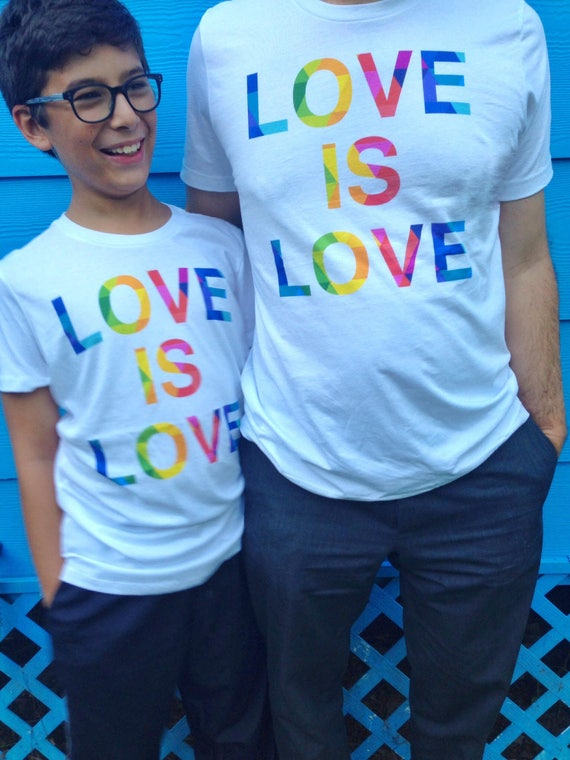Special Edition! Love is Love Rainbow Pride Tshirt Gay Lesbian Tees LGBT Equality Apparel Love Gifts