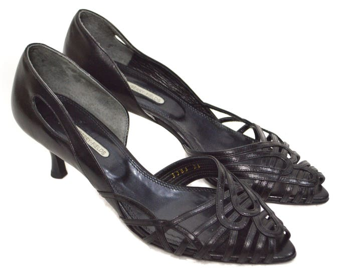 Vintage 90s Strawberry Fields Japan High Heel Pumps Shoes