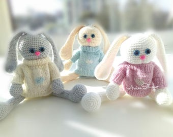 Bunny knitted
