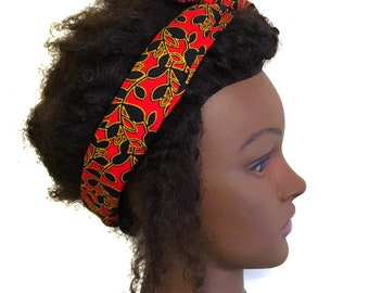 Twist headband, twist wire hairwrap, Wire headbands, bun holder, African headband,