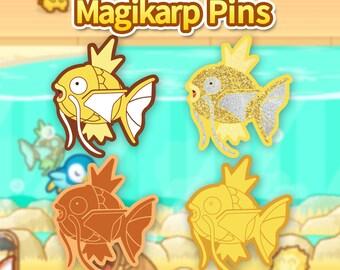Shiny Magikarp Enamel Pins