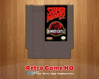NES - Super Mario Bros.: Bowser's Castle