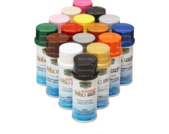 Leather & Vinyl Color Spray Dye Paint - MB Brillo - Permanent Color - Repels Water + Stains 4.50oz Bottle - 50+ Colors!