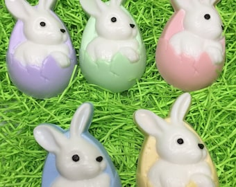 Easter basket stuffer Easter Bunny soap Easter basket idea Easter decor Easter favor Easter Gift For Kids Soap Easter gift Easter treat