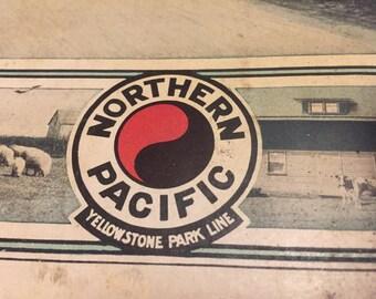 Vintage Railroad - Northern Pacific North Dakota magazine