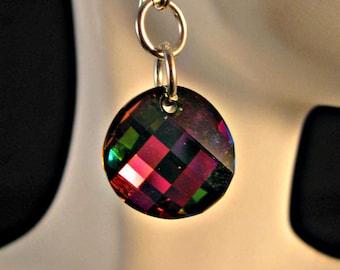 Vitrail Twist Earrings,swarovski crystal earrings,dangle earrings,drop earrings,swarovski crystal,swarovski,vitrail crystal,swarovski,drop