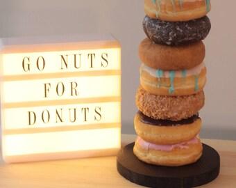 Wedding Donut Bar,Wedding Donut Stand, Donut Stand,Donut Display, Donut Party Decor, Dessert Bar, Donut Holder, Doughnut Stand, Doughnut Bar