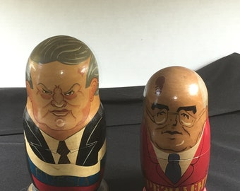 End of Cold War Matryoshka Dolls