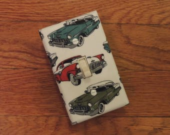 Vintage / Classic Car Light Switch Plate w/ Blue, Green, & Red Chevrolet Bel Air - Man Cave Decor - Gift for Him - Boy's Room Decoration