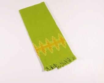 Vintage Swedish Embroidery Dish Towel