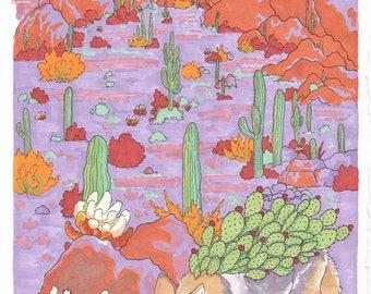 Prickly Pear (print)
