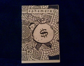 Ephemeral #2 Mini Shower Thoughts Zine