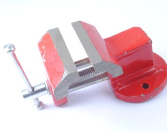 Proops Cast Iron 65mm Baby Bench Vice Work Holding Tool (H4005). Free UK Postage.