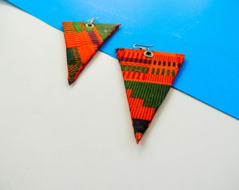Uma Triangular Shaped Earrings