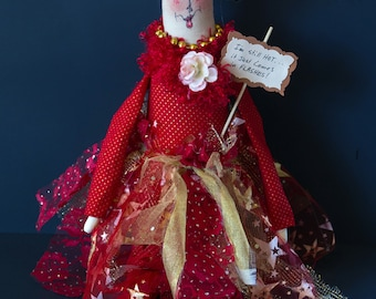 I'm Still HOT...It Just Comes in FLASHES - Whimsical Doll