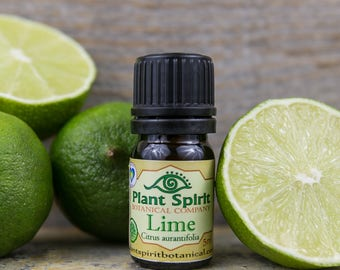 Organic Lime Essential Oil | 5 ml | Citrus aurantifolia | Italy