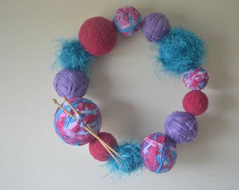 Yarn Lovers Wreath