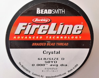 Fireline Crystal 6lb weight 50yards