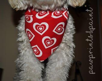 """Valentine Pet Bandana: """"Furever Mine"""""""