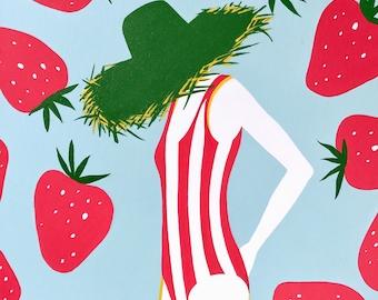 Strawberries & Stripes