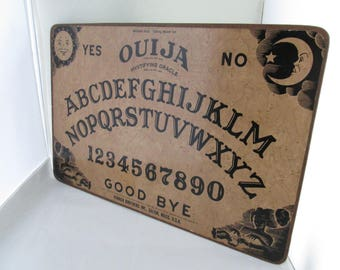 Vintage William Fuld Parker Brothers Ouija Board w Planchette Mystifying Oracle Parker Bros game room Talking Board William Fuld ouija board