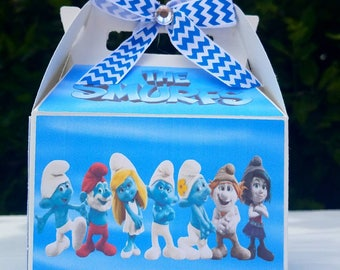 Smurfs set. For birthday and party decoration
