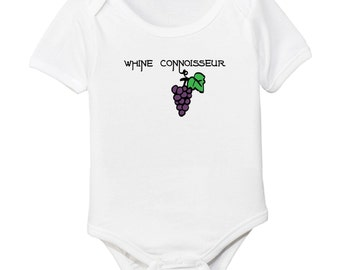 Whine Connoisseur Organic Cotton Baby Bodysuit