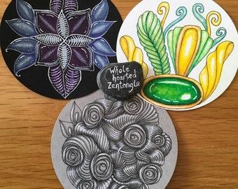 Circle Artist Tiles