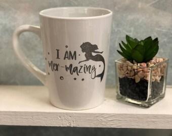 I am mermazing mermaid mug