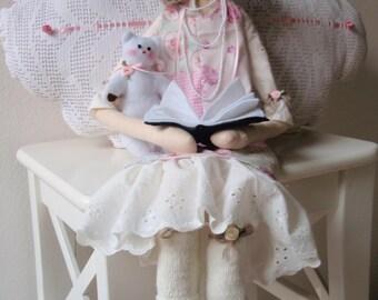 Pattern Rag Doll PDF Cloth Doll DIY Free Shipping