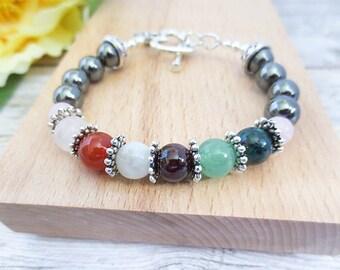 IVF or IUI Support Bracelet in Silver - Fertility Bracelet Infertility Jewelry