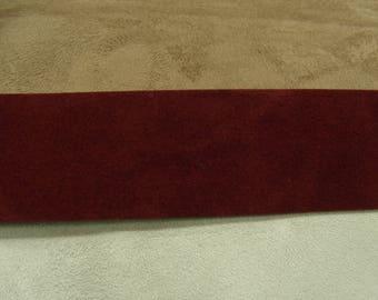 Velvet-4 cm - Burgundy Ribbon