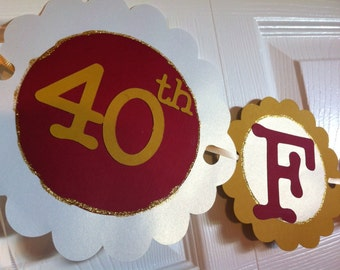 40th Birthday Decorations Celebrating Forty & Fabulous
