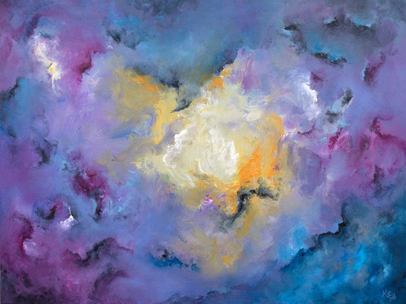 Precipice of Deep Soul Painting