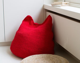 Big Beanbag: A Crochet PDF Pattern