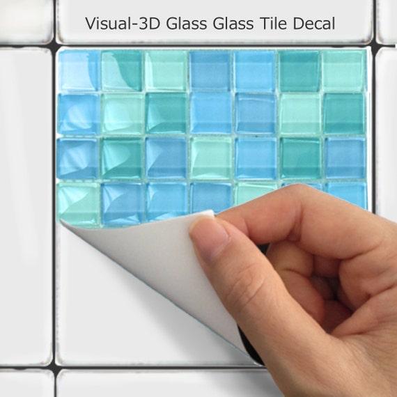 Küche Bad Fliesen Aufkleber Vinyl Aufkleber: Mosaik MS006