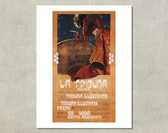 La Tribuna Roma - 8.5x11 Poster Print - also available in 13x19 - see listing details