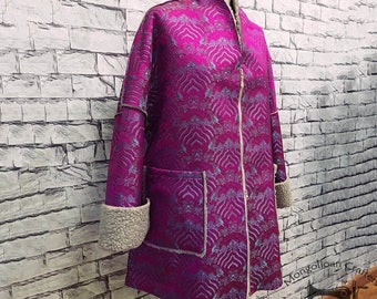 Dressy coat jacket hand made occasional clothing 4 seasonal available please request