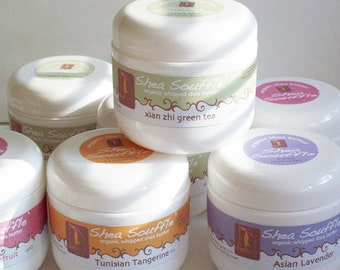 SOMALIAN ROSE organic shea souffle' 4oz. ....Home and Living-Bath Beauty Organic Whipped SheaButter