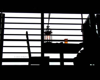 Table For One - fine art photography - 12x18 - print - wall art