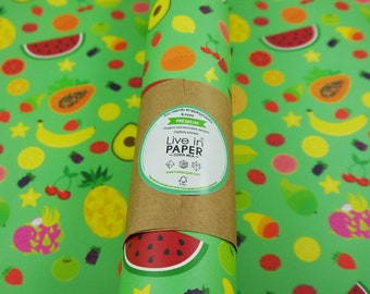 Fast Food  Eco-Friendly Wrapping Paper