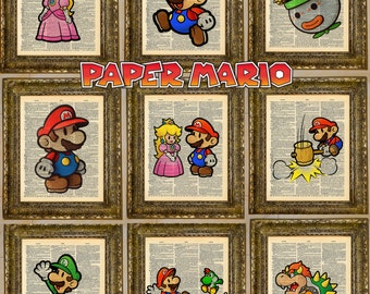 Paper Mario Dictionary Art Series