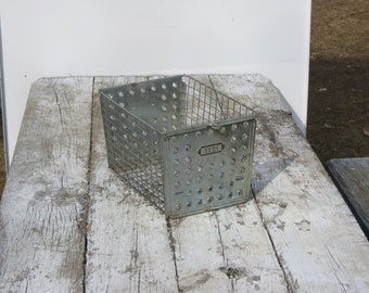 Old Wire Metal Gym Basket