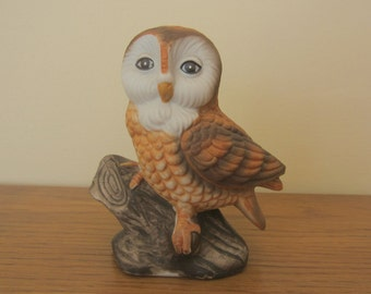 Free shipping.  Charming Ardco ceramic owl.