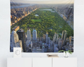 Central Park Tapestry | Central Park Wall Tapestry | Park Tapestry | Park Wall Tapestry | Central Park Wall Decor | Central Park Wall
