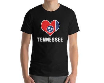 Tennessee Shirt - Tennessee Tshirt - Tennessee - Tennessee Gifts - Tennessee State Shirt - Tennessee Tee - State of Tennessee