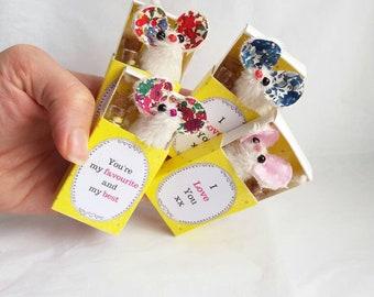 Matchbox Minature Mouse Secret Messages