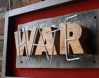 War, Hate: Sin...ominous - Urban Art - Typography